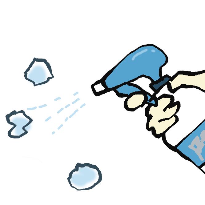 菌自体を除菌して消臭するという方法を用いており、除菌をしながら素早く消臭をすることができます。