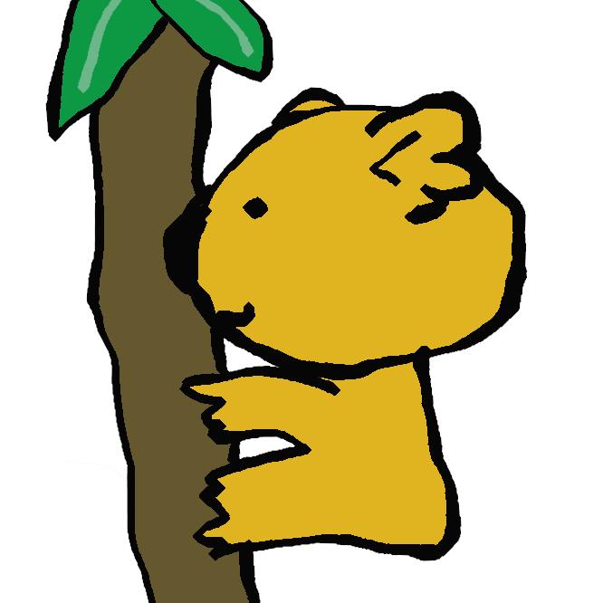 【横顔コアラ】コアラのマーチのキャラのひとつ。