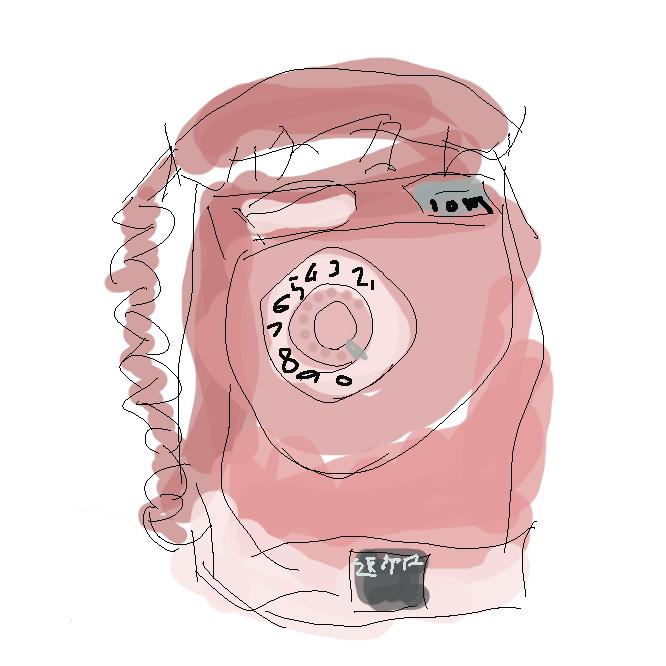 【ピンク電話】特殊簡易公衆電話の通称。店舗内に設置される公衆電話で、電話機が多くピンク色であるところからの名。
