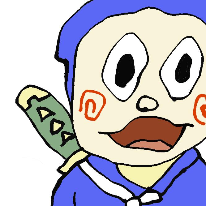【服部貫蔵】『忍者ハットリくん』は、藤子不二雄Ⓐによる日本のギャグ漫画作品、およびそれを原作としたテレビドラマ、テレビアニメ、劇場アニメ作品に登場する主人公。