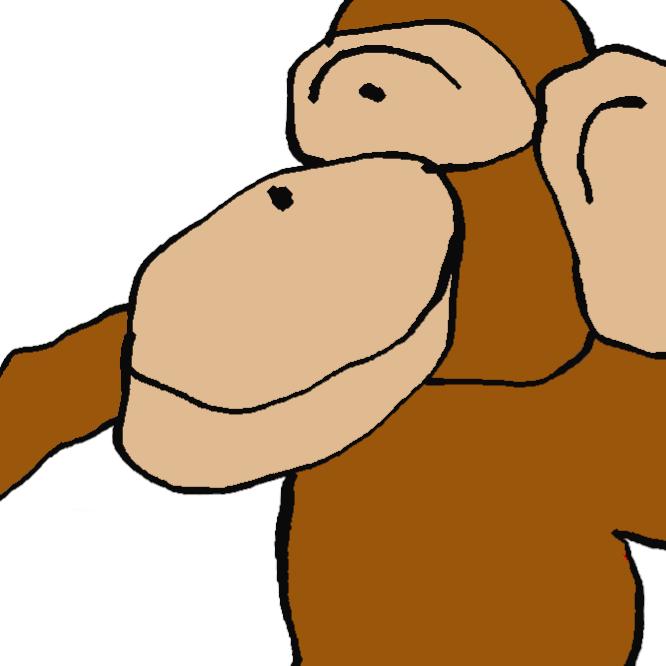 モンキー Monkey 手抜きイラスト集