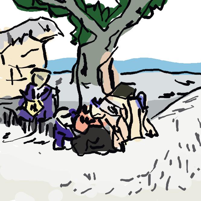 【袋井宿】旧東海道の宿場で、東海道五十三次の宿場の数では江戸から数えても京から数えても27番目で中間点にあたる。他の宿場より少し遅れて元和2年(1616年)までに整備された。