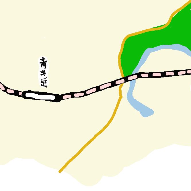 【青井岳駅】宮崎県都城市山之口町山之口にある、九州旅客鉄道(JR九州)日豊本線の駅である。