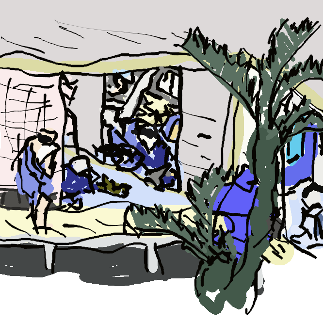 【赤坂宿】東海道の宿場。現在の愛知県豊川市赤坂町。