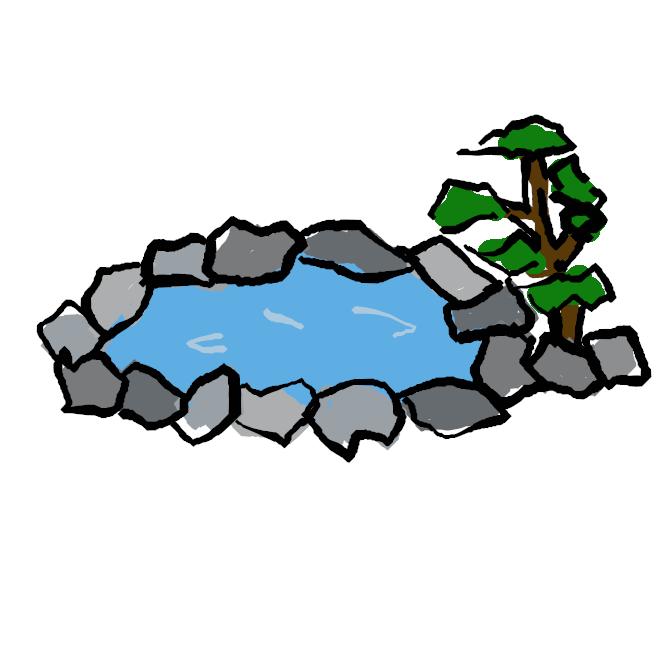 【温泉】地熱のために、その土地の平均気温以上に熱せられた地下水。さまざまな泉質があり、浴用または飲用することで治療・健康増進の効果がある。日本の温泉法ではセ氏25度以上のものか、特定の溶存物質が一定値以上含まれているものを指す。