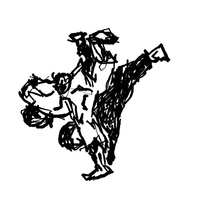 【柔道】日本古来の柔術諸流派をもとに、明治15年(1882)嘉納治五郎によって創始された格闘技。心身を鍛練修養し、青少年の教育に貢献することを目的とした。技は、投げ技・固め技・当て身技の3部門から成る。第二次大戦後、スポーツとして世界的に普及。