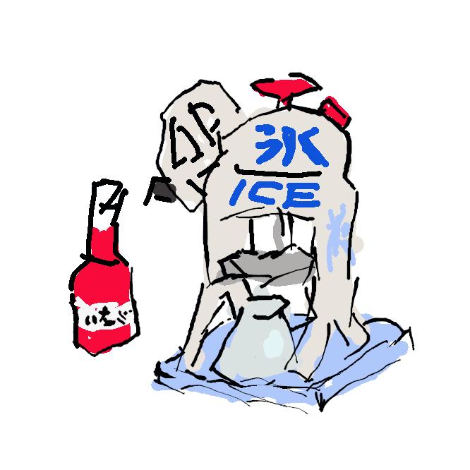 【欠き氷機】かき氷を作れる機械。