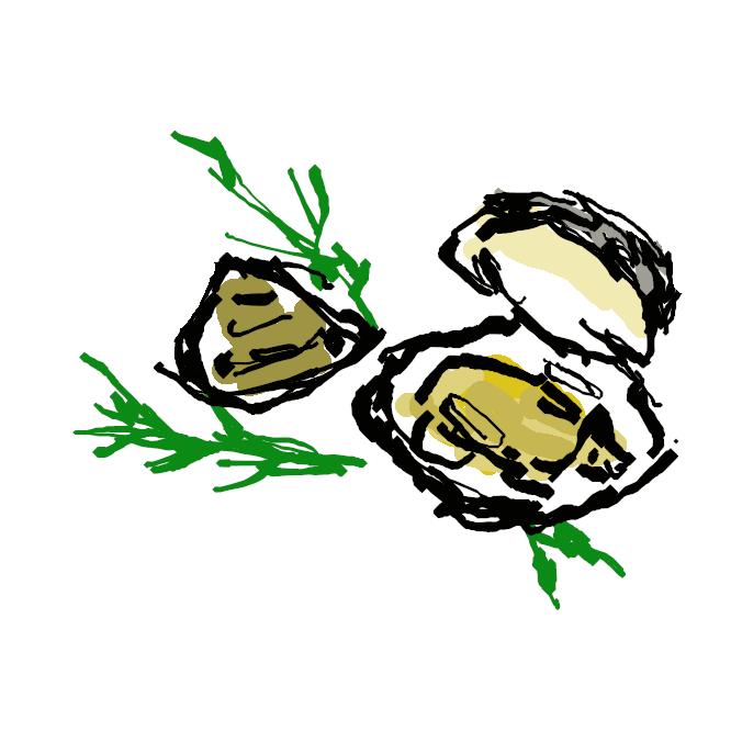 【蛤】マルスダレガイ科の二枚貝。内湾の砂泥地にすみ、殻は丸みのある三角形で、殻長8センチくらい。殻表は滑らかで、黄褐色に褐色や紫色の模様のあるものが多い。北海道南部より南に分布。養殖もされる。殻は貝細工・胡粉(ごふん)の材料。
