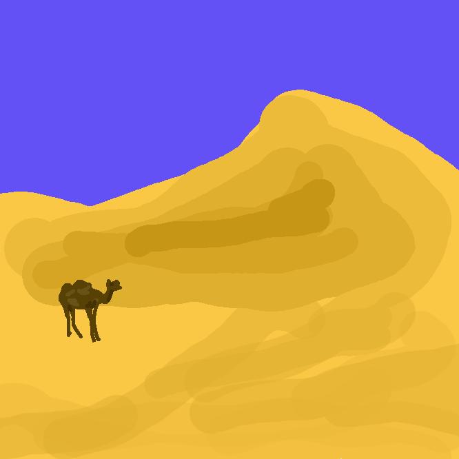 哺乳類・ウシ目・ラクダ科・ラクダ属 Camelus の動物の総称。西アジア原産で背中に1つのコブを持つヒトコブラクダ と、中央アジア原産で2つのコブをもつ2種のフタコブラクダ の3種が現存する。砂漠などの乾燥地帯に最も適応した家畜であり、古くから乾燥地帯への人類の拡大に大きな役割を果たしている。