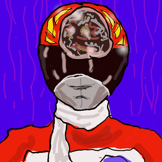 スーパー戦隊シリーズ第4作『電子戦隊デンジマン』の赤い戦士である。