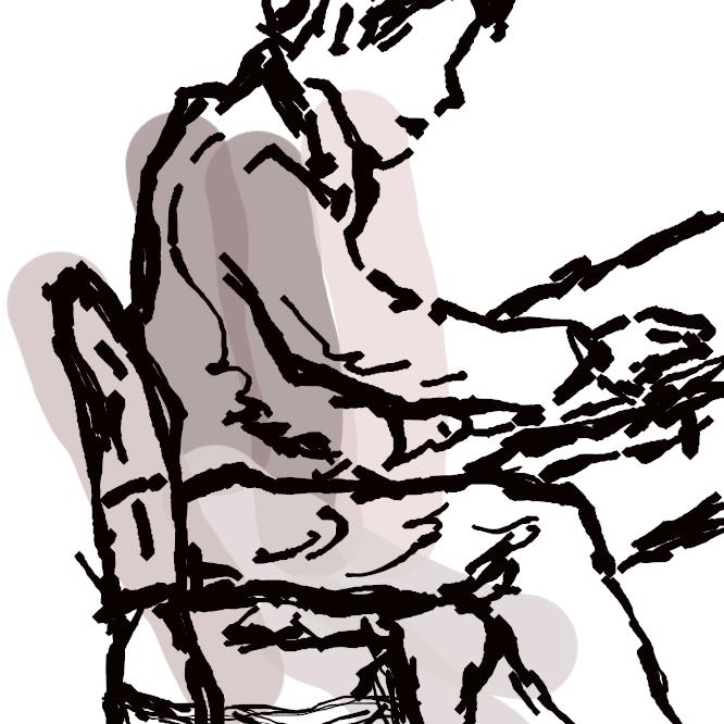鍵盤(けんばん)楽器の一。鍵盤を指先でたたくと、その運動がハンマーに伝えられ、大きな共鳴箱内に張られた金属弦を打って発音する。18世紀初めイタリア人B=クリストフォリが考案。以後、独奏・合奏に広く用いられるようになった。平型(グランド)と竪型(アップライト)とがある。