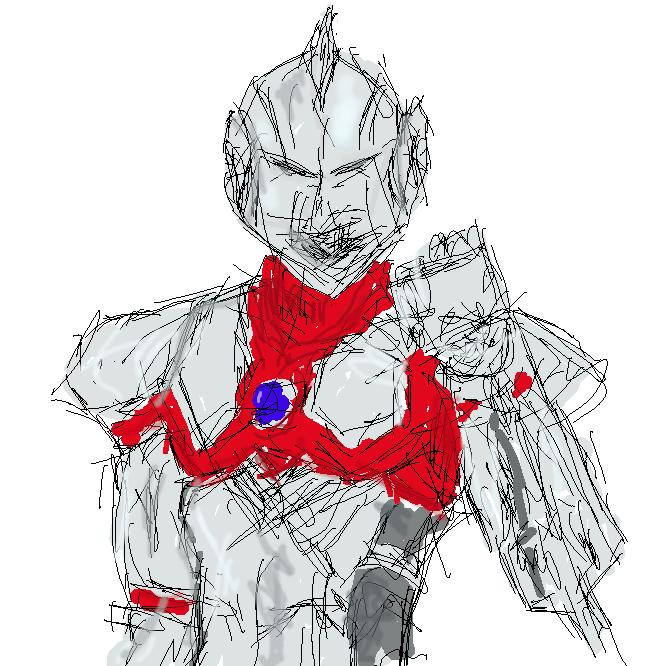 月刊ヒーローズに連載されている漫画『ULTRAMAN』に登場するパワードスーツである。早田進次郎が装着するスーツで、最初に装着したスーツはAタイプと呼ばれている。最初からウルトラスラッシュが使える他、スペシウム光線も放たれるようになっている。リミッターを解除すると胸のランプが赤に変わるが、スーツ及び着用者の両方に多大な負荷がかかるため数分しか使用できない奥の手である。